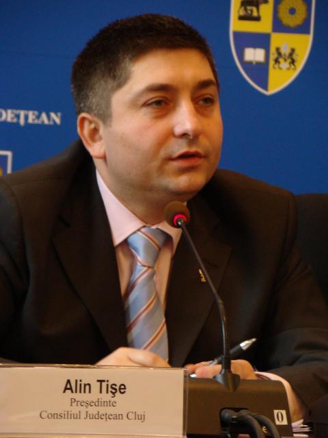 Alin Tişe, preşedintele Consiliuliui Judeţean