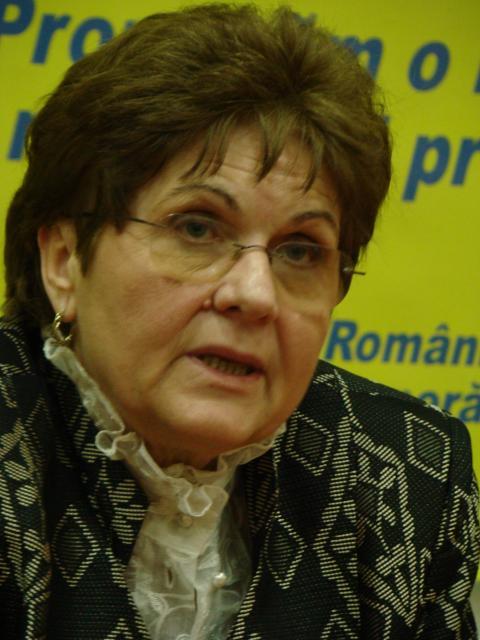 Mariana Câmpeanu, fostul ministru al Muncii, Familiei şi Egalităţii de Şanse