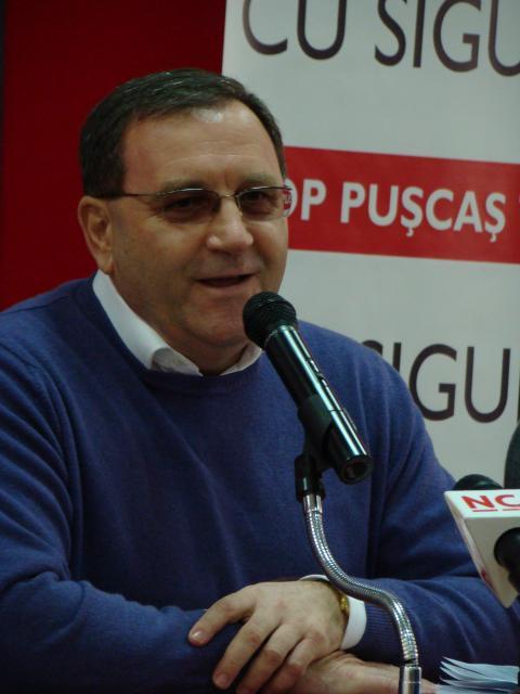 Teorod Pop-Puşcas, candidatul PSD la primăria Cluj-Napoca