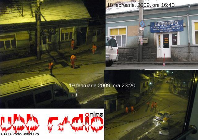 Strada Aurel Suciu este cosmetizată în urma sesizării făcute de UBB Radio
