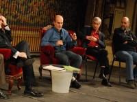 """Emil Hurezeanu şi Cristian Tudor Popescu au fost pe scena Teatrului Naţional """"Lucian Blaga"""" din Cluj-Napoca"""