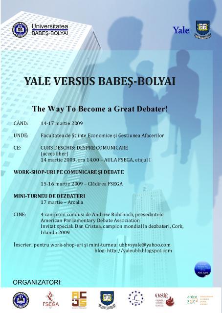 Yale University versus Babeş Bolyai