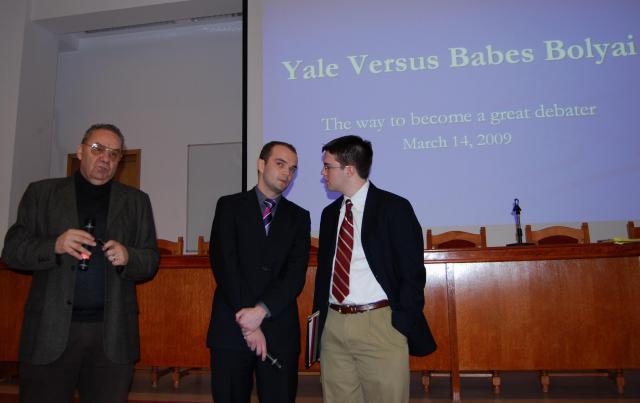 Yale versus Babeș-Bolyai