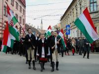 Maghiarii şi Noua Dreaptă au sărbătorit la Cluj