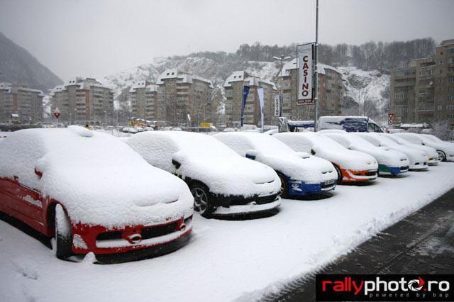 Parcul închis TESS Rally Brașov în prima zi de concurs