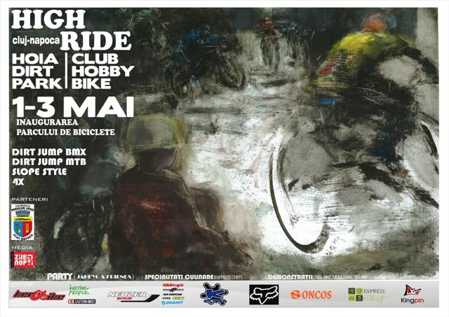 Primul parc de biciclete din Cluj-Napoca va fi inaugurat cu ocazia competiţiei naţionale de Mountain bike şi BMX