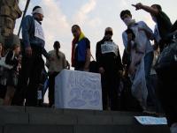 Tinerii au parodiat alegerile de la Chişinău