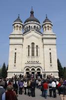 Credincioşii ortodocşi clujeni s-au strâns de Florii la Catedrala Mitropoliei