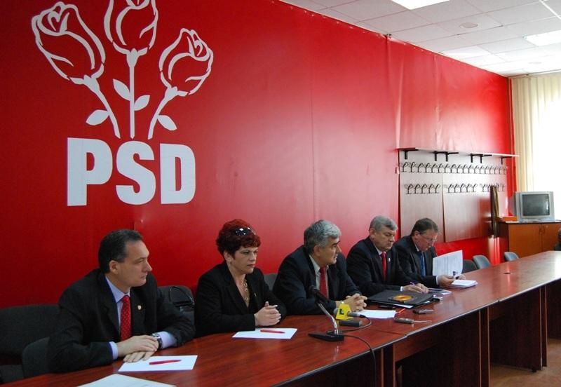 PSD Cluj mizează la europarlamentare pe o bună comunicare cu liderii de la centru ai partidului