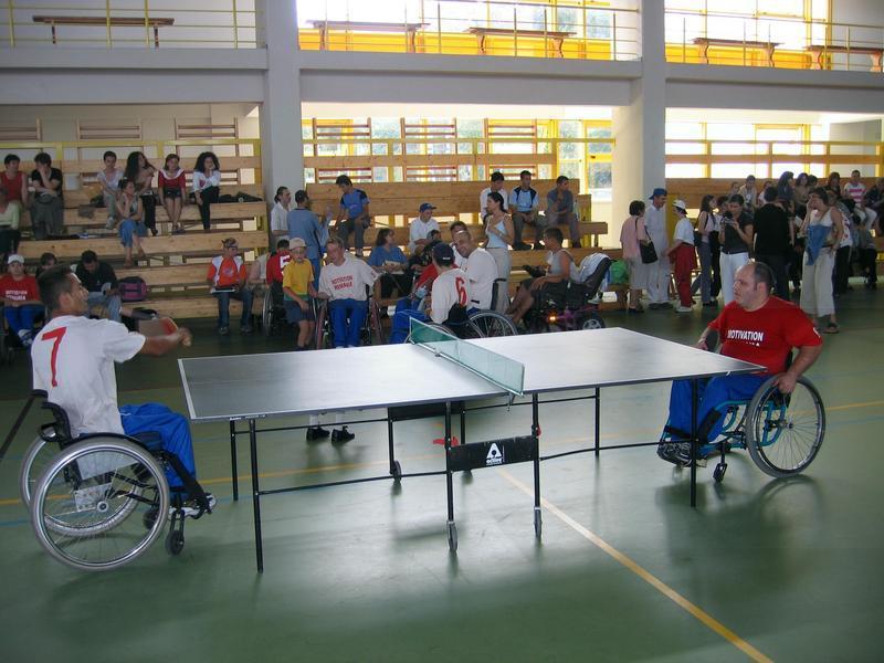 """Sala Sporturilor """"Horia Demian"""" va găzdui timp de trei zile Turneul Internațional de Tenis de Masă din România-RITTO, organizat pentru persoanele cu dezabilități"""