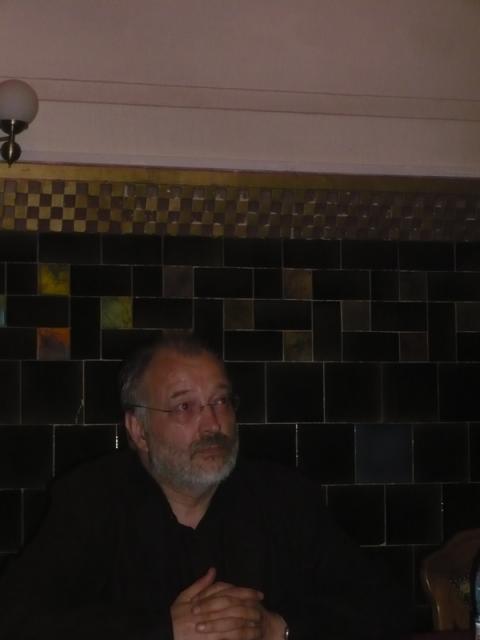Scriitorul și realizatorul TV, Stelian Tănase, s-a întâlnit astăzi, în cadrul Facultății de Litere din Cluj, cu studenții și fanii săi