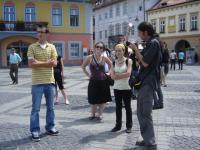 Studenti participanti la seminarul SWIM au avut ocazia sa participe la un tur al orasului organizat de primaria Sibiu