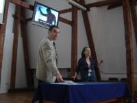 Adrian Bucura, şeful Serviciului Informatică din cadrul Primăriei Sibiu