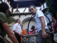 Studenti participanti la seminarul SWIM au avut ocazia sa viziteze castelul Bran