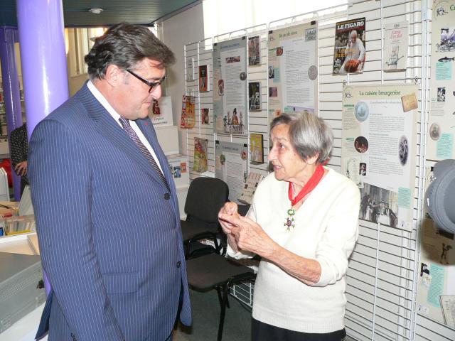 Ambasadorul Franţei în Românian, Excelenţa Sa Dl. Henri Paul, Doina Cornea