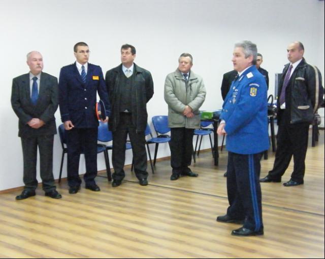 Delegatie maghiara la Jandarmerie