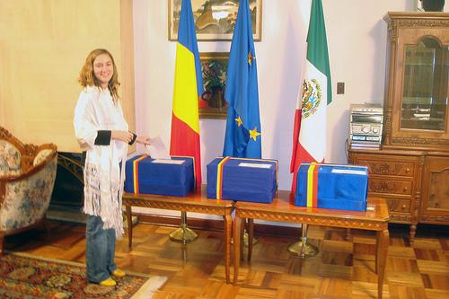 Primul votant în MEXIC