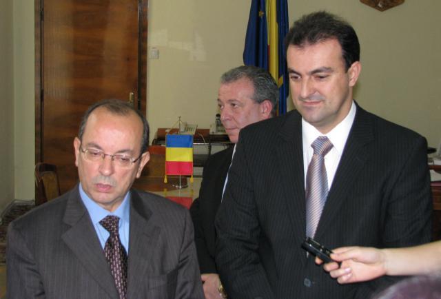 Ambasadorului Italiei, Mario Cospito