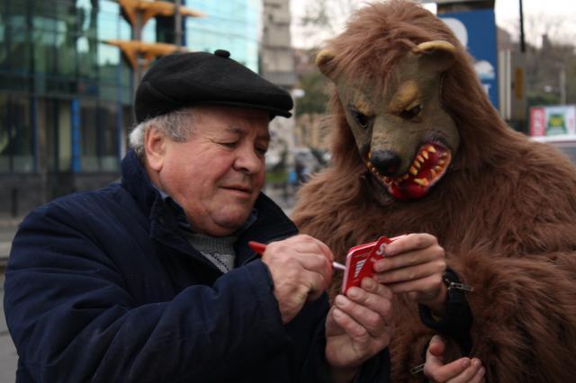 Fundația Vier Pfoten a inițiat campania Stop it!, care are loc în Cluj- Napoca între 4 și 6 noiembrie cu scopul de a interzice folosirea animalelor sălbatice în circuri