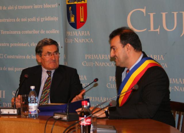 Tenorul Ion Buzea a fost desemnat astăzi cetățean de onoare al orașului Cluj-Napoca.