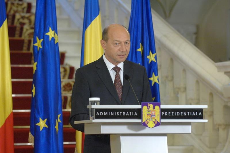 Preşedintele Traian Băsescu
