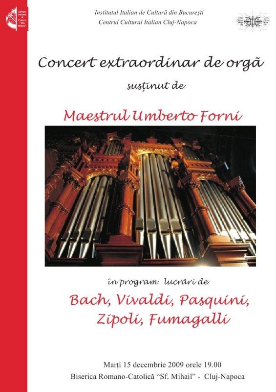 Concert extraordinar de orgă la Biserica Sf. Mihail