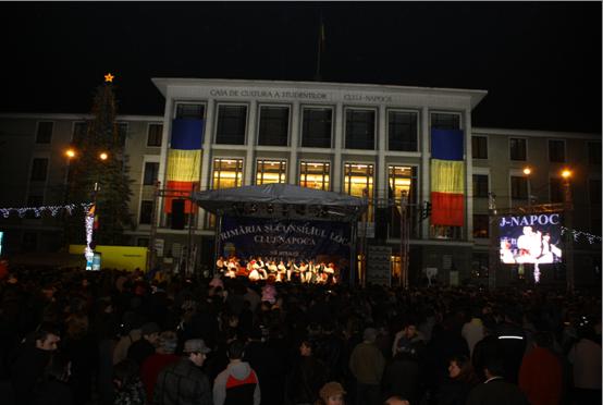 Manifestaţiile de 1 decembrie din Cluj-Napoca