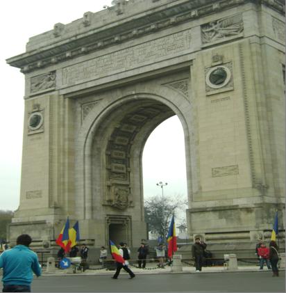 Manifestaţiile de 1 decembrie de la Arcul de Triumf