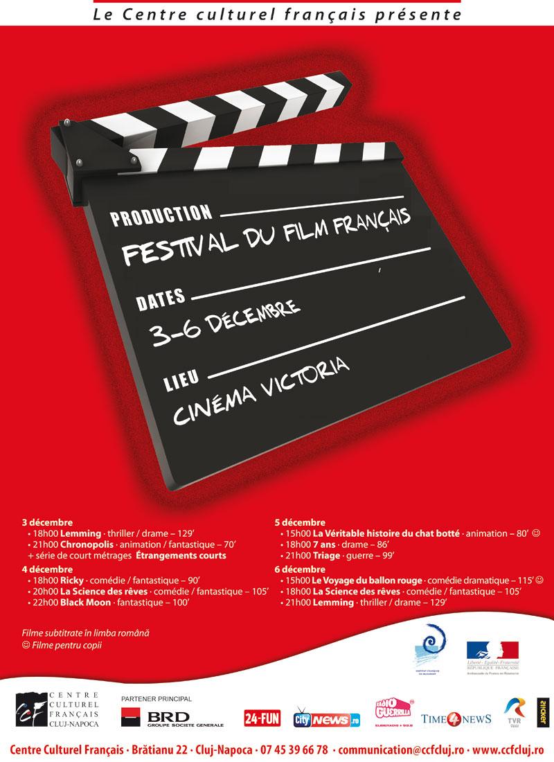 Festivalul Filmului Francez la Cluj