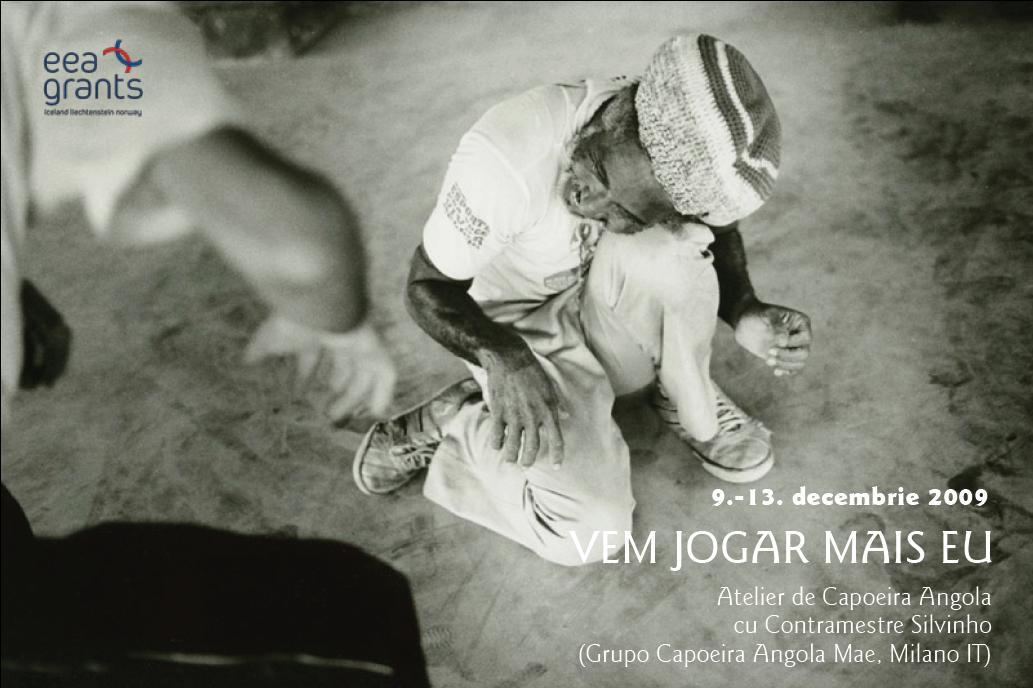 Cursuri de Capoeira Angola, la Fabrica de Pensule