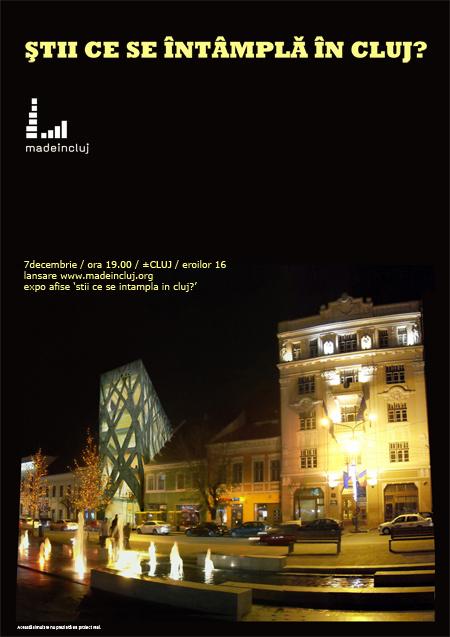 Totul despre proiectele arhitecturale din Cluj pe www.madeincluj.org