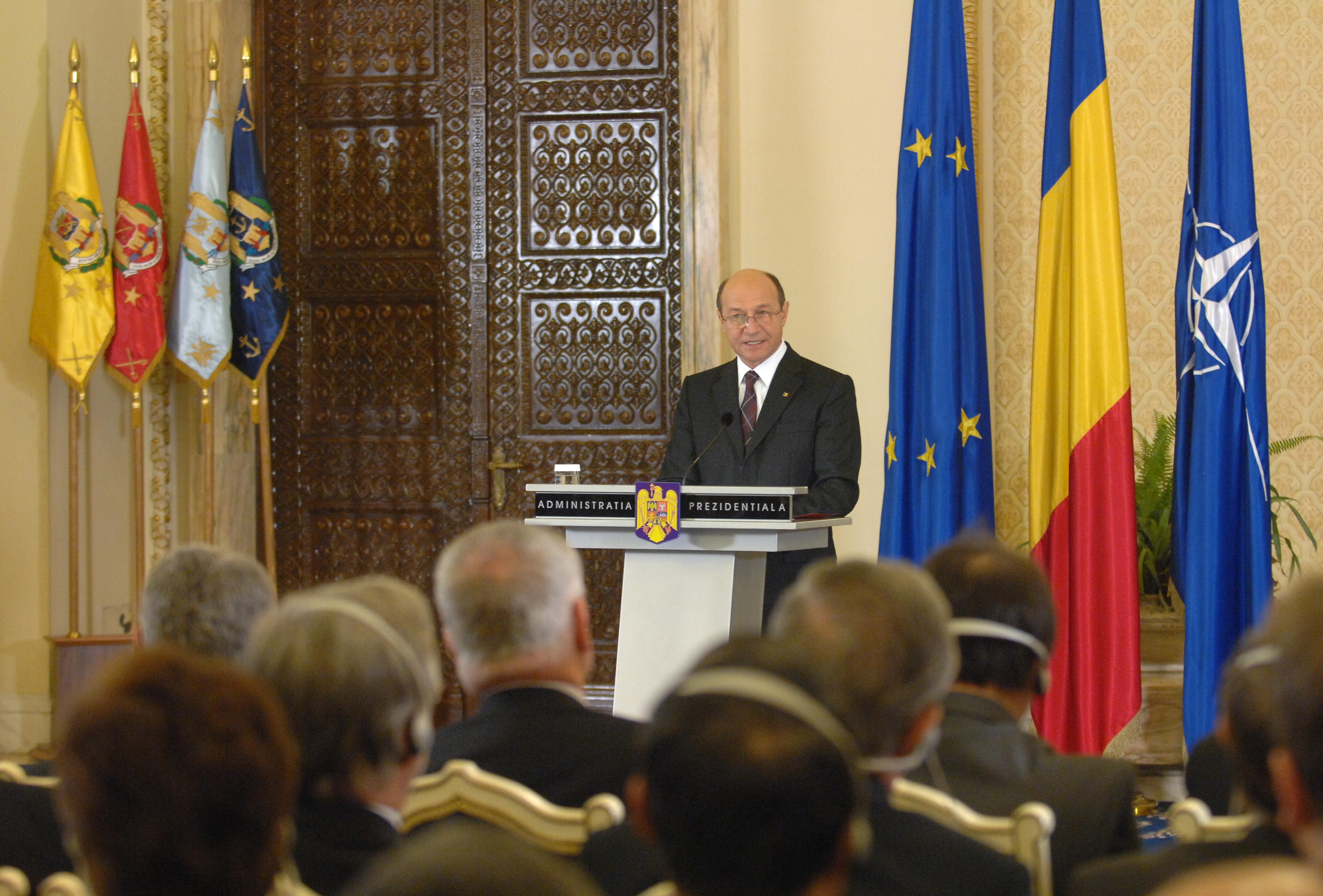 Reuniunea de început de an cu Şefii Misiunilor Diplomatice acreditaţi la Bucureşti