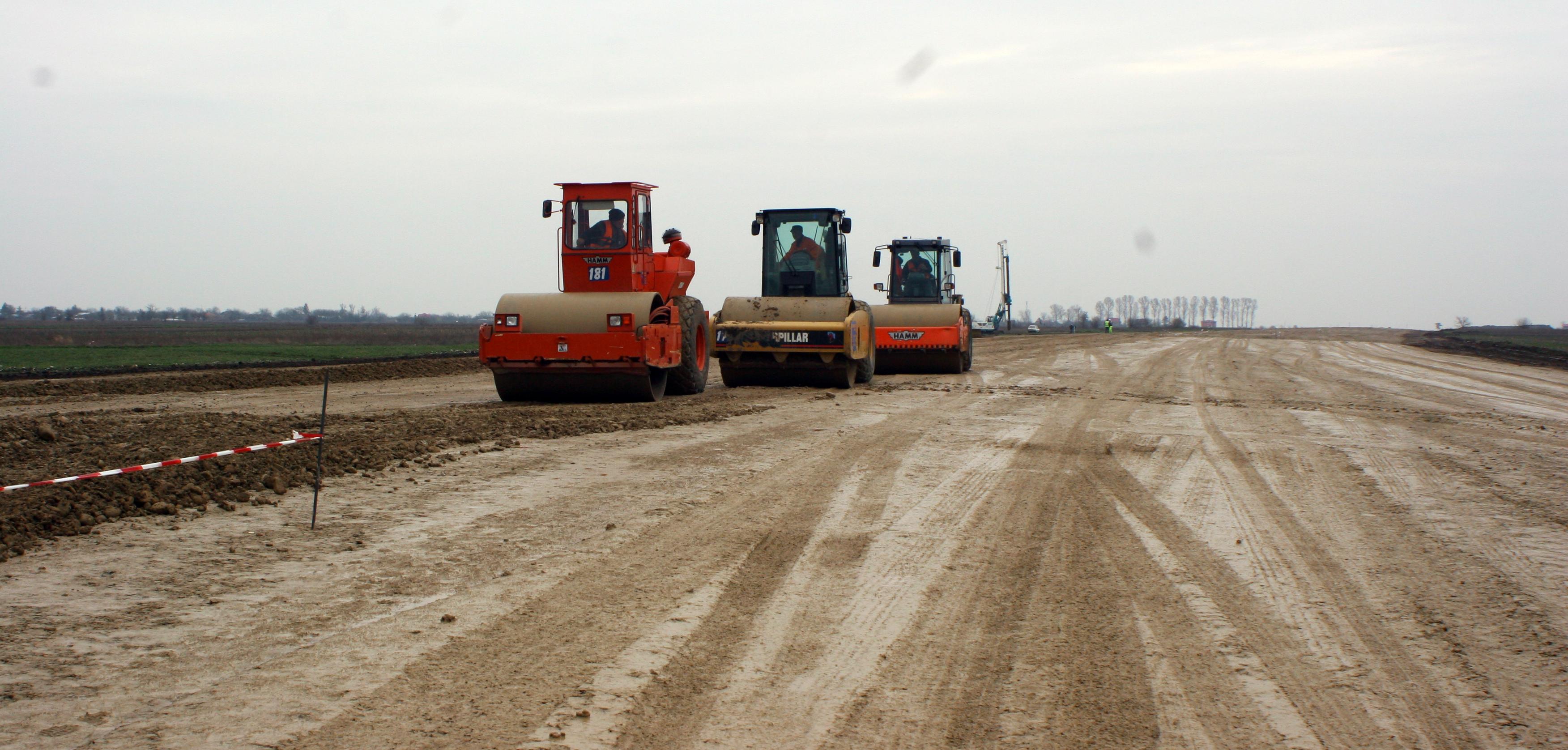 Lucrări Autostradă București-Pitești