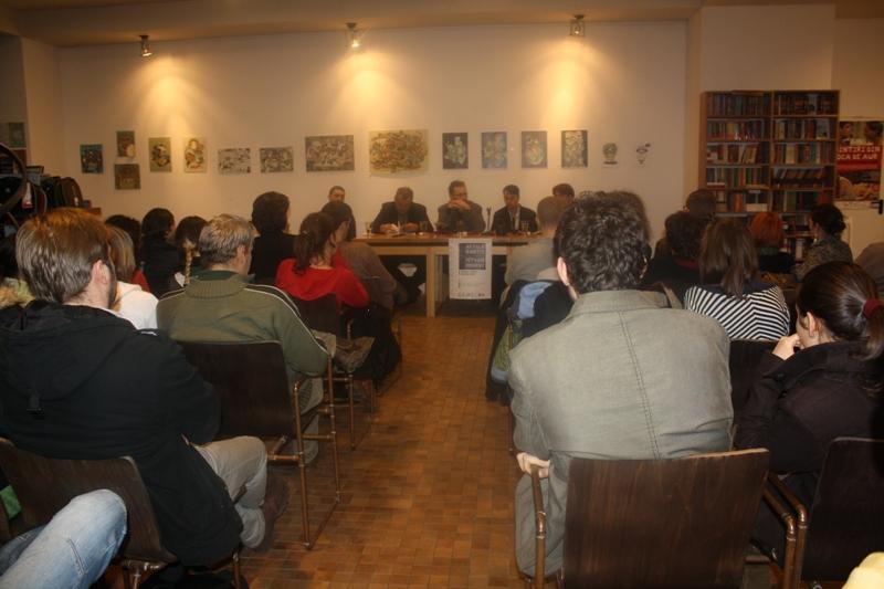 Eveniment bilingv la Cărturești