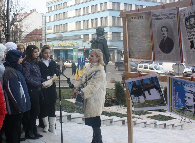Comemorarea lui Mihai Eminescu