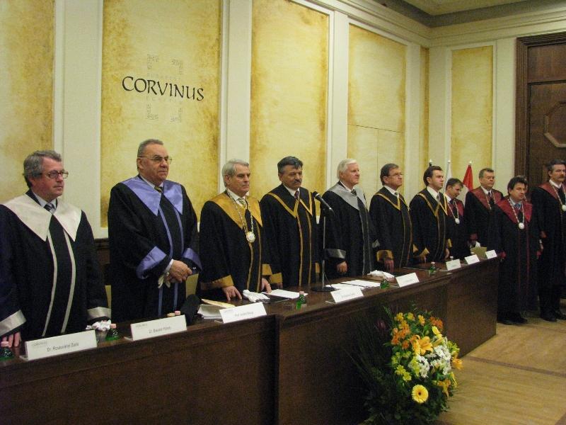 Andrei Marga, Doctor Honoris Causa al Universităţii Corvinus