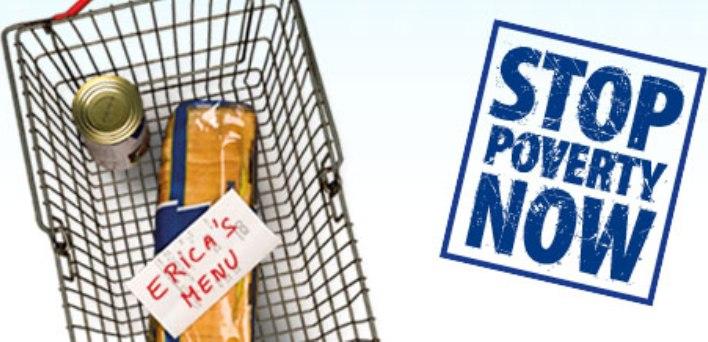 Stop sărăciei acum!