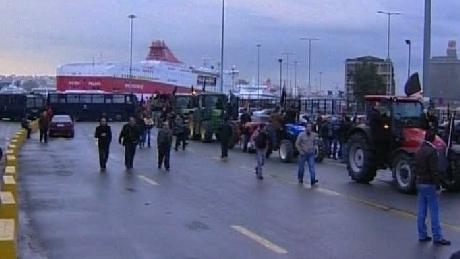 Punctul de frontieră dintre Gracia și Bulgaria a fost blocată
