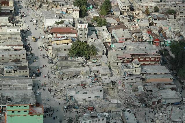 Statul Haiti devastat de cutremur