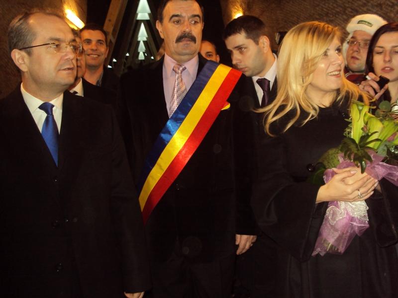Salina Turda inaugurată cu surle şi trâmbiţe