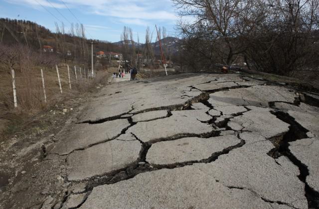 Zona calamitată Pucheni - Malu cu Flori, judeţul Dâmboviţa