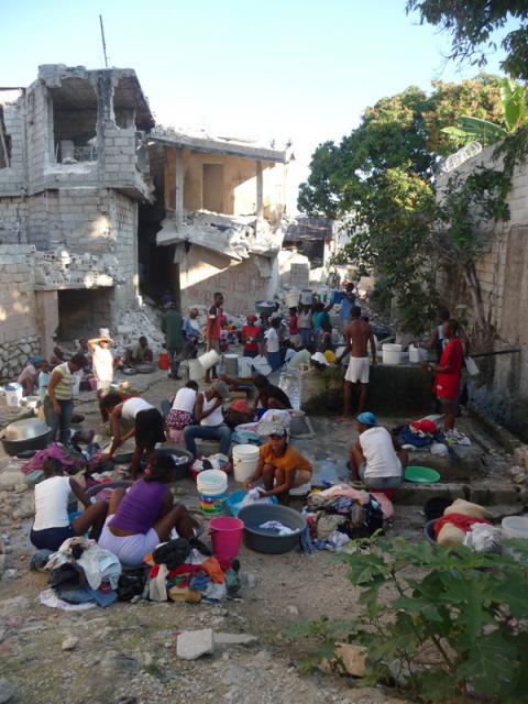 CE propune acordarea unui nou ajutor pentru Haiti