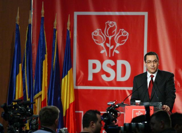 Victor Ponta este noul preşedinte PSD
