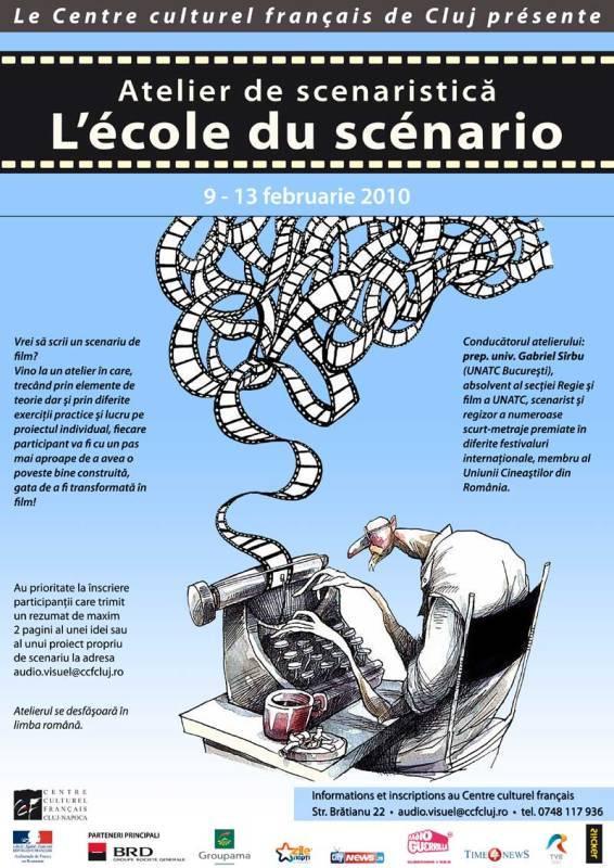 Învață cum să scrii un scenariu la Centrul Cultural Francez!