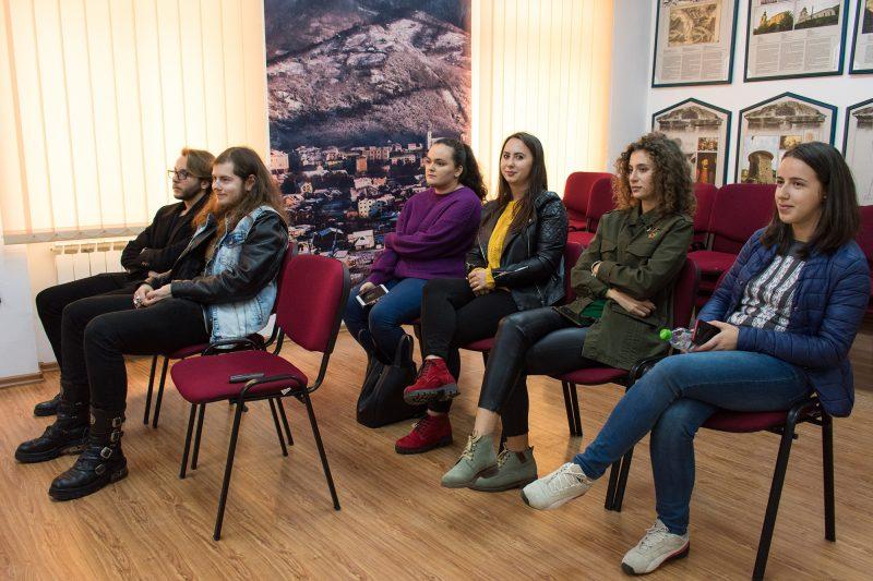 Studenții de la FSPAC în vizită la Centrul Național de Informare și Promovare Turistică (CNIPT) Șimleu Silvaniei.