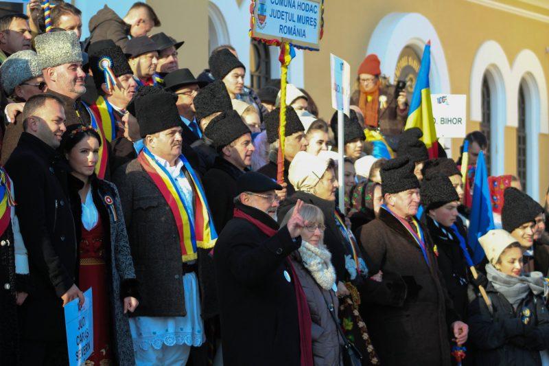 La final s-a făcut o poză de grup cu participarea oamenilor politici și a reprezintanților județelor care au participat la ceremonial (Hunedoara, Satu-Mare, Caraș-Severin, Arad, Mureș și Bacău)